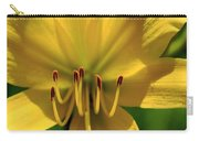 Yellow Too Lily Flower Art Carry-all Pouch