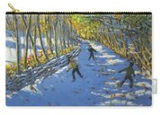 Yellow Trees  Allestree Park Carry-all Pouch by Andrew Macara