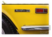 Yellow Triumph Spitfire Carry-all Pouch