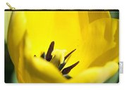 Yellow Tulip Cup Carry-all Pouch