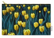 Yellow Tulip Field Carry-all Pouch