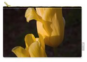 Yellow Tulips Last Rays Carry-all Pouch