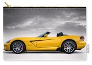 Yellow Viper Roadster Carry-all Pouch