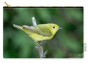 Yellow Warbler Dendroica Petechia Female Carry-all Pouch