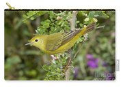 Yellow Warbler Hen Carry-all Pouch