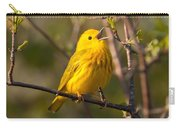 Yellow Warbler Singing Carry-all Pouch
