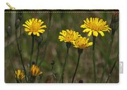 Yellow Wild Flowers Along The Chehalis Trail Carry-all Pouch