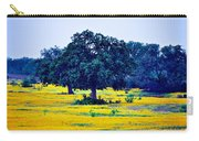 Yellow Wildflowers After Sunrise Carry-all Pouch