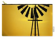 Yellow Wind Carry-all Pouch