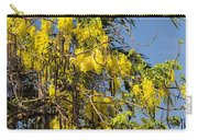 Yellow Wisteria Blooms Carry-all Pouch