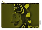 Yellow Zebra Carry-all Pouch