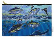 Yellowfin Run Off002 Carry-all Pouch by Carey Chen