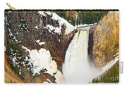 Yellowstone Falls From Lookout Point. Carry-all Pouch