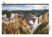 Yellowstone Falls Panorama Carry-all Pouch