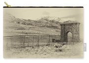 Yellowstone Grand Entrance Carry-all Pouch