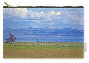 Yellowstone Lake In Yellowstone National Park-wyoming- Carry-all Pouch