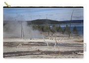Yellowstone National Park - Hot Springs Carry-all Pouch