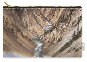 Yellowstone National Park Montana  3 Panel Composite Carry-all Pouch