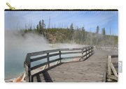Yellowstone Park - West Thumb Geyser Basin Carry-all Pouch