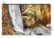Yellowstone Lower Falls Rainbow Carry-all Pouch