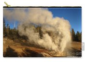 Yellowstone Riverside Eruption Carry-all Pouch