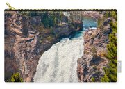 Yellowstone Upper Falls Carry-all Pouch