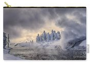 Yellowstone Winter Wonderland Carry-all Pouch
