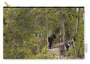 Yellowstone Wolves Carry-all Pouch