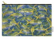Yellowtail Frenzy In0023 Carry-all Pouch