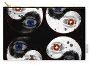 Yin-yang Black And White Carry-all Pouch