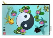 Yin Yang Koi Pond Scenery Carry-all Pouch