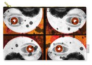 Yin-yang Orange Carry-all Pouch