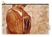 Yoda Wisdom Original Coffee Painting Carry-all Pouch