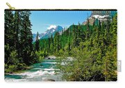 Yoho River In Yoho Np-bc Carry-all Pouch