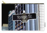 Yonge Street Carry-all Pouch