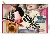 Yorkshire Terrier Art Canvas Print - My Fair Lady Movie Poster Carry-all Pouch