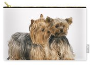Yorkshire Terrier Dogs Carry-all Pouch