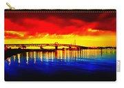 Yorktown Bridge Sunset Carry-all Pouch
