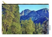 Yosemite Ahwahnee Hotel Courtyard Carry-all Pouch