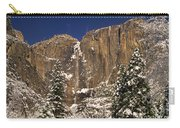 Yosemite Falls And Lost Arrow Yosemite National Park  Carry-all Pouch