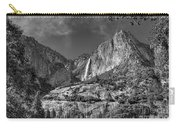 Yosemite Falls - Bw Carry-all Pouch
