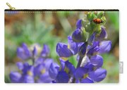Yosemite Lupine And Ladybug Carry-all Pouch