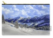 Yosemite National Park Winter Carry-all Pouch