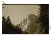 Yosemite Park Sepia Carry-all Pouch