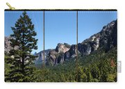 Yosemite Triptych Carry-all Pouch