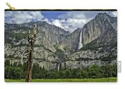 Yosemite Upper And Lower Falls Carry-all Pouch
