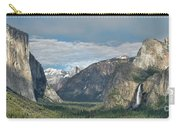 Yosemite Valley Afternoon Carry-all Pouch