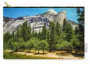 Yosemite Valley Along Yosemite River Beach Carry-all Pouch