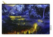 Yosemite Valley At Night Carry-all Pouch
