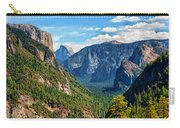 Yosemite Valley Overlook Carry-all Pouch